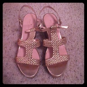 Kate Spade tianna wedges, size 10.5
